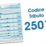 codice tributo 2501